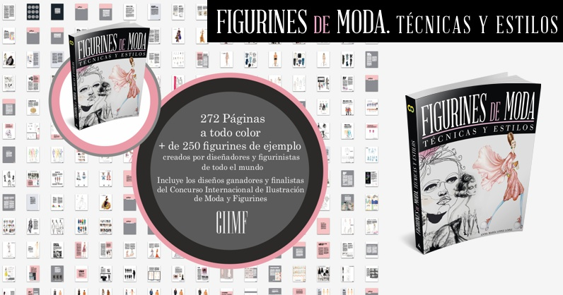 Graphic identity and digital promotional campaign for CIIMF and the launch of the book FIGURINES DE MODA